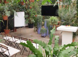 Vergaderen groen workshopruimte heisessie heidag locatie Amsterdam
