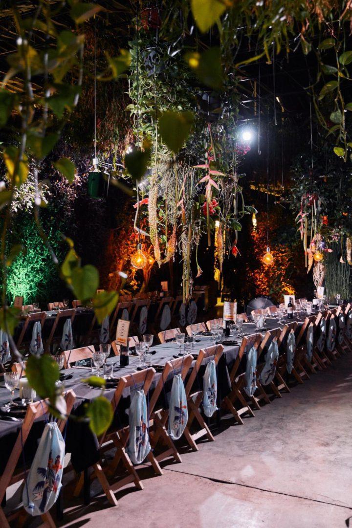 Modeshow met Jungle thema in de arendshoeve - The Garden of Amsterdam