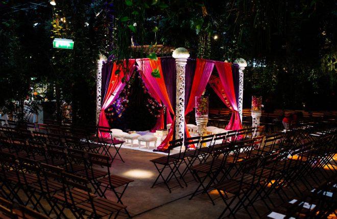 Hindoestaanse - Nederlandse bruiloft op een grote locatie bij Amsterdam 11