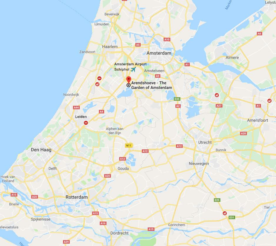 Route Arendshoeve Aalsmeerderdijk - The Garden of Amsterdam