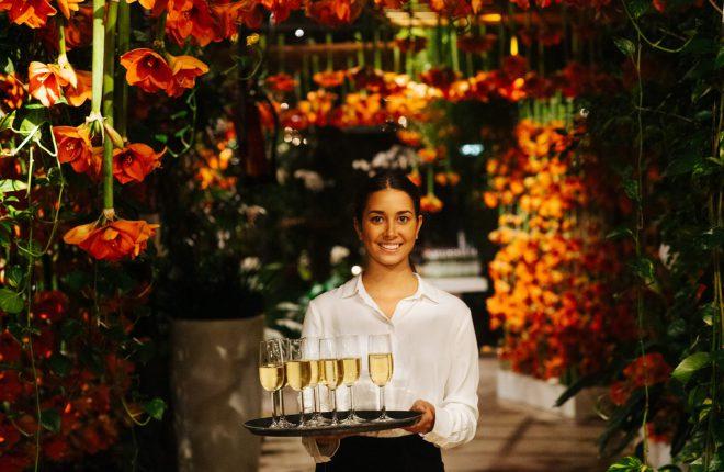 Matter of taste met event met bloemenzee in the Garden of Amsterdam (1)